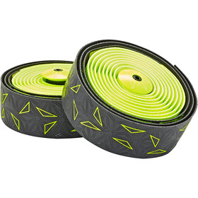 Supacaz Super Sticky Kush Starfade Handlebar Tape, neon yellow
